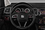 Car pictures of steering wheel view of a 2016 Seat Alhambra Style Advance 5 Door Minivan Steering Wheel