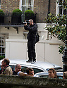 The Wedding of Poppp Delevigne and James Cook<br /> St Paul's Church, Knightsbridge 17.5.2014<br /> <br /> Huge pack of press photographers and paparazzi