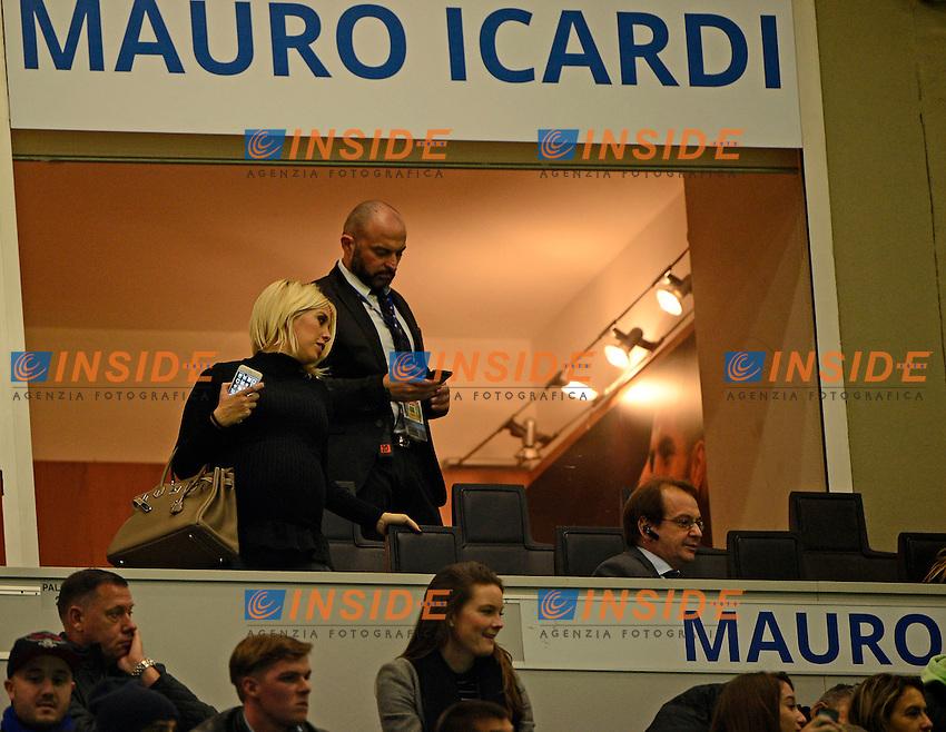 Wanda Nara <br /> Milano 26-10-2016 Stadio Giuseppe Meazza - Football Calcio Serie A Inter - Torino. Foto Giuseppe Celeste / Insidefoto
