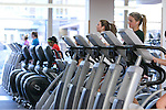 Opening day at the new Fascitelli fitness center in rebuilt former Roger Williams Dinning Hall on the Kingston Campus of the University of Rhode Island on Monday, November 18,2013. (Photo/Joe Giblin