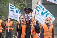 2020/05/19 Berlin   S-Bahn   Protest   EVG