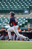 Minnesota Twins Chris Cavaness (15) during an instructional league game against the Baltimore Orioles on September 22, 2015 at Ed Smith Stadium in Sarasota, Florida.  (Mike Janes/Four Seam Images)