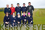 Golf: Killarney golf team who in prepartation for the Irish mixed foursome west munster section in Castlegregory, Golf & Fishing Club, on Saturday Front l-r: Muireann O'farrell, Eimear O'Donnell,Amy Arthur, marian O'Reilly and Chareslie O'Carroll. Backl-r: Ed Curtagne, Edward Denis, DonalO'Sullivan, Sonal Considine and james O'Neill.