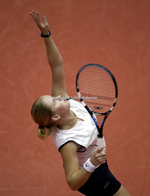 20031214, Rotterdam, LSI Masters, Tessy van de Ven verslaat Trik in de finale van de masters