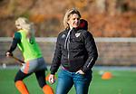 TILBURG  - hockey-   coach Ageeth Boomgaardt (MOP)  voor  de wedstrijd Were Di-MOP (1-1) in de promotieklasse hockey dames. COPYRIGHT KOEN SUYK