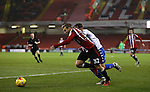 Harry Chapman of Sheffield Utd during the English League One match at the Bramall Lane Stadium, Sheffield. Picture date: November 22nd, 2016. Pic Simon Bellis/Sportimage
