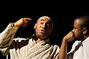 I. D with Antony Sher ,Lucian Msamati opens at the Almeida Theatre on 4//8/03 CREDIT Geraint Lewis