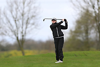 Rachel Foster (SCO) on the 1st fairway during Round 1 of the Irish Girls U18 Open Stroke Play Championship at Roganstown Golf &amp; Country Club, Dublin, Ireland. 05/04/19 <br /> Picture:  Thos Caffrey / www.golffile.ie
