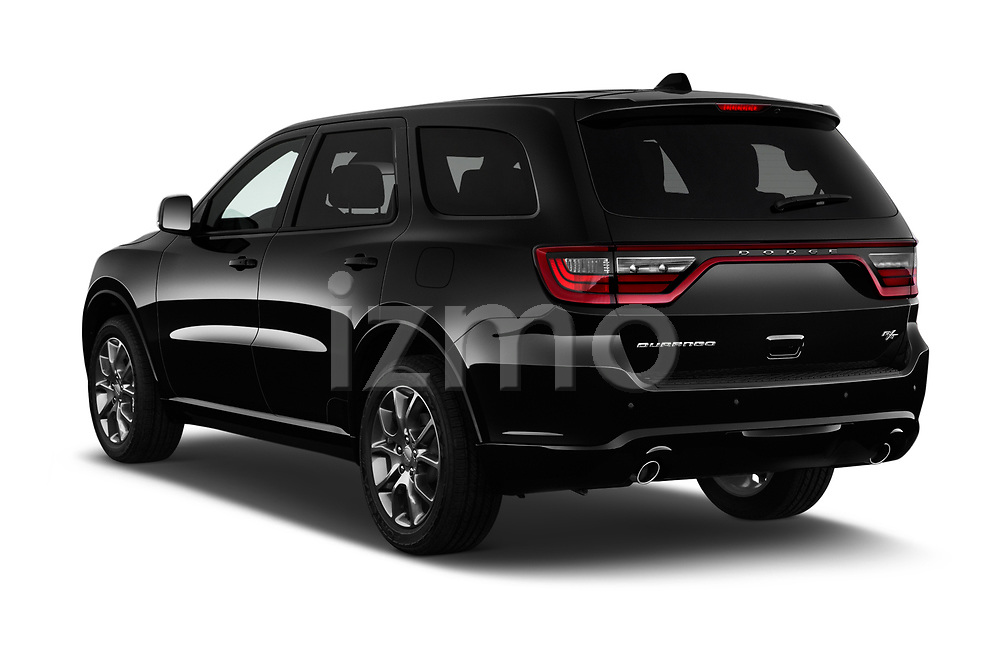 Car pictures of rear three quarter view of a 2015 Dodge Durango R/T RWD 5 Door SUV angular rear