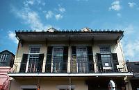 New Orleans:  611 Bourbon--balcony.