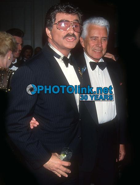 Burt Reynolds John Forsythe 1993<br /> Photo By John Barrett/PHOTOlink