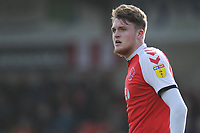 Fleetwood Town's Harry Souttar<br /> <br /> Photographer Kevin Barnes/CameraSport<br /> <br /> The EFL Sky Bet League One - Fleetwood Town v Blackpool - Saturday 7th March 2020 - Highbury Stadium - Fleetwood<br /> <br /> World Copyright © 2020 CameraSport. All rights reserved. 43 Linden Ave. Countesthorpe. Leicester. England. LE8 5PG - Tel: +44 (0) 116 277 4147 - admin@camerasport.com - www.camerasport.com