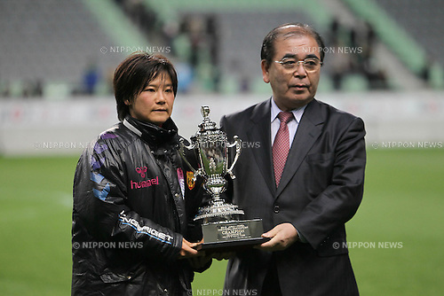 Shinobu Ono (Leonessa), .MARCH 15, 2012 - Football / Soccer : Japan and South Korea Women's League Championship 2012 match between INAC Kobe Leonessa 3-0 Goyang Daekyo Noonnoppi at Home's Stadium Kobe in Hyogo, Japan. .(Photo by Akihiro Sugimoto/AFLO SPORT) [1080]