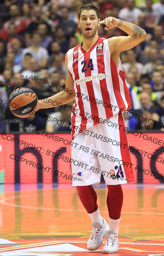 Kosarka Euroleague season 2015-2016<br /> Euroleague <br /> Crvena Zvezda v Real Madrid<br /> Stefan Jovic <br /> Beograd, 27.11.2015.<br /> foto: Srdjan Stevanovic/Starsportphoto &copy;