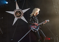 CARHAIX-PLOUGUER, FRANCE - JULY 14, 2016: American singer Alison Mosshart of indie rock band The Kills performs at the Festival des Vieilles Charrues, Carhaix-Plouguer, France<br /> Picture: Kristina Afanasyeva / Featureflash