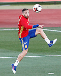 Spain's Jordi Alba during training session. March 20,2017.(ALTERPHOTOS/Acero)