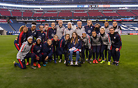 Nashville, TN - March 1, 2019:  The USWNT trains in preparation for the second game of the SheBelieves Cup at Nissan Stadium.