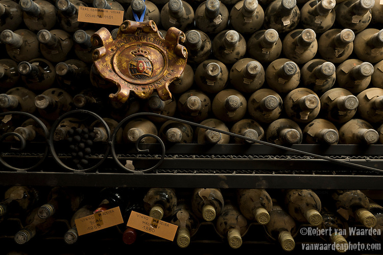 The unique and incredible wine Cellar of the Dom Sebastio restaurant in Lagos, Portugal