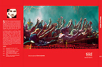 "Coffee table Book: "" BRAJ ki HOLI - The Divine Colours Of Lord Krishna"""