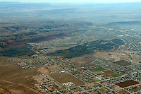 Aerial view of St. George, Utah