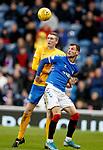 26.12.2019 Rangers v Kilmarnock: Iain Wilson and Borna Barisic