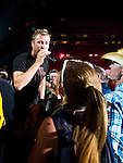 Dierks Bentley performs at LP Field during Day 3 of the 2013 CMA Music Festival in Nashville, Tennessee.