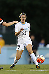 24 September 2015: North Carolina's Dorian Bailey. The University of North Carolina Tar Heels hosted the Syracuse University Orange at Fetzer Field in Chapel Hill, NC in a 2015 NCAA Division I Women's Soccer game. UNC won the game 3-1.