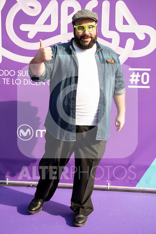 "Dani Reus attends to the presentation of the new Movistar+ Talent Show, ""Acapela"" for channel #0 in Madrid. May 26, 2016. (ALTERPHOTOS/Borja B.Hojas)"