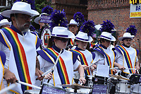 QUEENS, NEW YORK - JUNE 04: The LGBT  Participants make their way to the march as the LGBT Queens Pride 2017 parade. Across the Jackson Heights streets performances and Latino community take place to celebrate  25 years of the  Queens parade on June 4, 2017 in New York.   Joana Toro/VIEW press