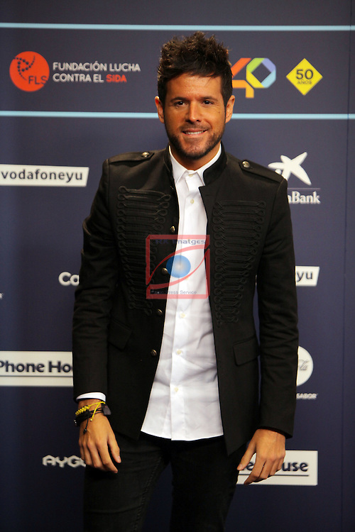 Los 40 MUSIC Awards 2016 - Photocall.<br /> Pablo Lopez.