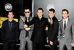 New Kids On The Block 2008  Danny Wood, Donnie Wahlberg, Jordan Knight, Jonathan Knight and Joey McIntyre at the 2008 American Music Awards at the Nokia Theatre, Los Angeles on 23rd November 2008