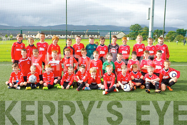 PARK FC: The St Brendans Park U11 teams at their first games of the new season at Christy Leay park, Tralee on Saturday.