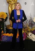 Kim Novak at the 86th Annual Academy Awards at the Dolby Theatre, Hollywood.<br /> March 2, 2014  Los Angeles, CA<br /> Picture: Paul Smith / Featureflash