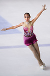 Chootiporn Buaphang of Thailand competes in Basic Novice Subgroup A Girls group during the Asian Open Figure Skating Trophy 2017 on August 02, 2017 in Hong Kong, China. Photo by Marcio Rodrigo Machado / Power Sport Images