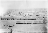 Various standard &amp; narrow gauge boxcars in D&amp;GW Alamosa Yard.<br /> D&amp;RGW  Alamosa, CO