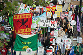 We Are Not A Pleb.  A Future that Works: TUC march and rally against austerity, London.