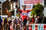 Gregory Henderson (NZL, LOT) sprinting to stage win, Stage 3 Buchten - Buchten, Ster ZLM Toer, Buchten, The Netherlands, 20th June 2014, Photo by Thomas van Bracht / Peloton Photos
