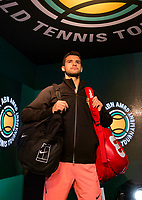 ABNAMRO World Tennis Tournament, 15 Februari, 2018, Rotterdam, The Netherlands, Ahoy, Tennis, Grigor Dimitrov (BUL)<br />