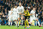 Real Madrid's Cristiano Ronaldo, Borussia Dortmund Marc Bartra during Champions League match between Real Madrid and Borussia Dortmund  at Santiago Bernabeu Stadium in Madrid , Spain. December 07, 2016. (ALTERPHOTOS/Rodrigo Jimenez)