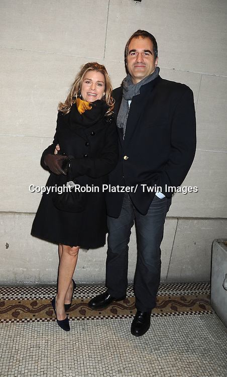Fiona Hutchison and John Viscardi attend the One Life to Live Wrap Party on November 18, 2011 at Capitale in New York City.