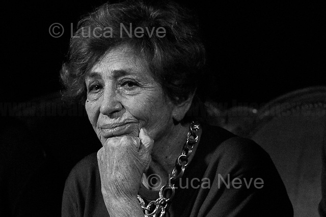 Luciana Castellina, Journalist, Politician & Author.<br /> <br /> For more information please click here: https://g.co/kgs/44FvdZ<br /> <br /> For more photos please click here: https://lucaneve.photoshelter.com/gallery/17-01-2017-Luciana-Castellina/G0000D8d0FOImlGc/C0000GPpTqAGd2Gg
