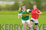 Lorraine Scanlon Kerry midfielder Aine O'Leary Cork.