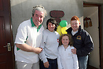 Ciaran Gallagher, Natasha Huenchko, Niamh and Sean Tester welcome Natasha home from Chernobyl...Photo NEWSFILE/Jenny Matthews.(Photo credit should read Jenny Matthews/NEWSFILE)....This Picture has been sent you under the condtions enclosed by:.Newsfile Ltd..The Studio,.Millmount Abbey,.Drogheda,.Co Meath..Ireland..Tel: +353(0)41-9871240.Fax: +353(0)41-9871260.GSM: +353(0)86-2500958.email: pictures@newsfile.ie.www.newsfile.ie.FTP: 193.120.102.198.