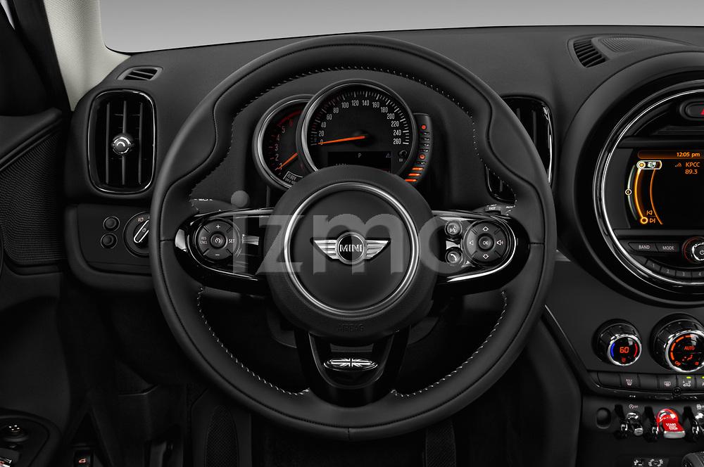 Car pictures of steering wheel view of a 2017 MINI Countryman - 5 Door Hatchback Steering Wheel