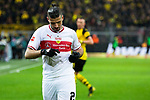 09.03.2019, Signal Iduna Park, Dortmund, GER, 1.FBL, Borussia Dortmund vs VfB Stuttgart, DFL REGULATIONS PROHIBIT ANY USE OF PHOTOGRAPHS AS IMAGE SEQUENCES AND/OR QUASI-VIDEO<br /> <br /> im Bild   picture shows:<br /> Einzelaktion Emiliano Insua (VfB Stuttgart #2), <br /> <br /> Foto &copy; nordphoto / Rauch