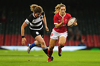 Kerin Lake of Wales in action during the International friendly match between Wales and Barbarians at the Principality Stadium in Cardiff, Wales, UK. Saturday 30 November 2019