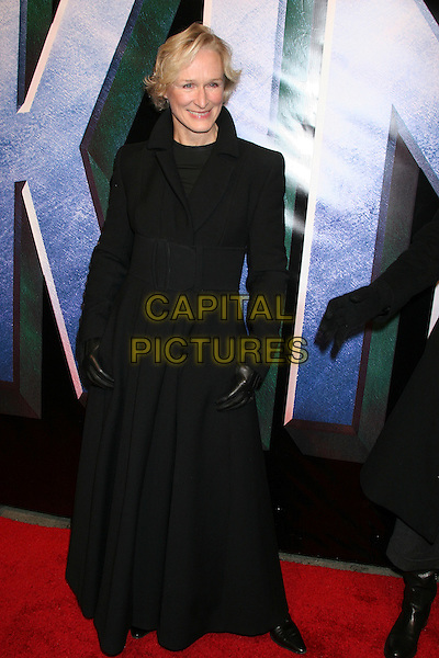 "GLENN CLOSE.Universal Pictures' ""King Kong"" New York City Premiere - Arrivals at Loews E-Walk & AMC Empire Cinemas, New York City..December 5th, 2005 .Ref: IW.full length black coat gloves.www.capitalpictures.com.sales@capitalpictures.com.©Capital Pictures"