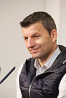 Real Valladolid´s coach Miroslav Djukic after match of La Liga 2012/13. 31/03/2013. Victor Blanco/Alterphotos /NortePhoto