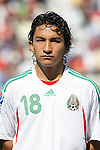 02 July 2007: Mexico's Cesar Villaluz. At the National Soccer Stadium, also known as BMO Field, in Toronto, Ontario, Canada. Mexico's Under-20 Men's National Team defeated Gambia's Under-20 Men's National Team 3-0 in a Group C opening round match during the FIFA U-20 World Cup Canada 2007 tournament.
