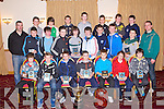 AWARDS NIGHT: The Kerins O'Rahillys U13 team enjoying the their awards night at the Strand Road clubhouse, Tralee on Thursday...